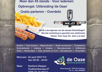 Flyer Oase Fair 2017