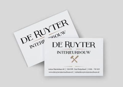 Logo en Huisstijl De Ruyter Interieurbouw