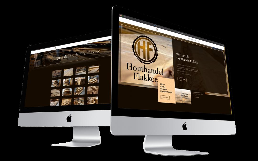 Logo, Huisstijl en website voor Houthandel Flakkee